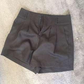 Black Dressy Shorts