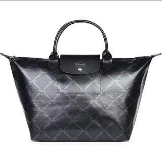 Longchamp LM Metal Medium Tote Bag
