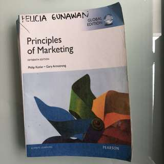 Marketing 15th Edition by Philip Kotler, Gary Armstrong