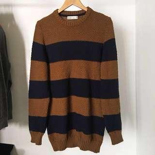 Bershka Knit Sweater Large