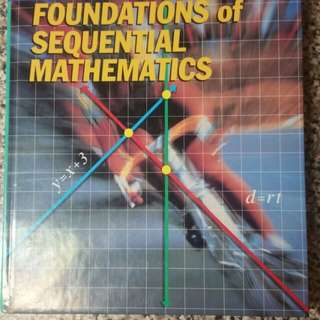Heath Foundations of Sequential Mathematics Math Hardcover Textbook