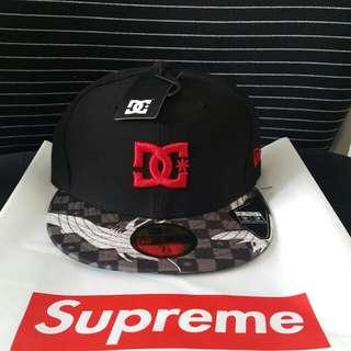 Dc x new era fitted cap