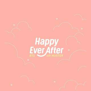 [#O041] [PO] BTS 4th Muster Happy Every After