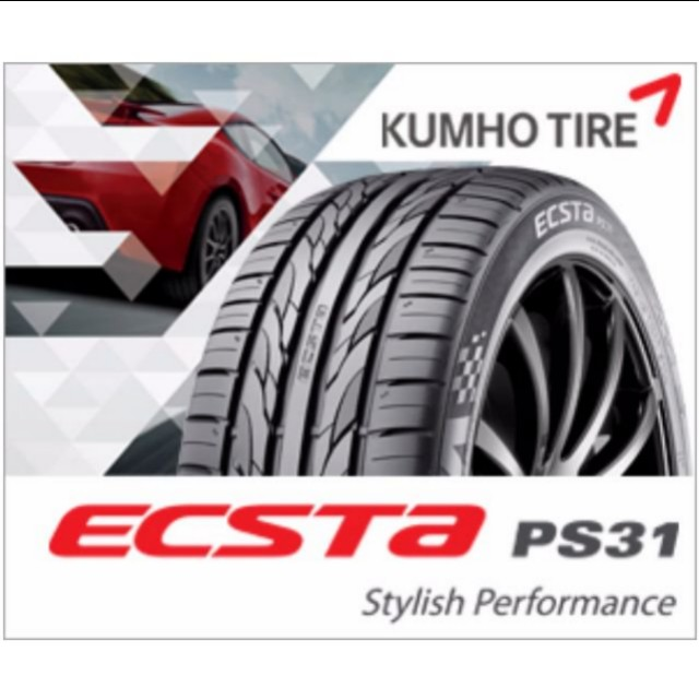 18inch With 95%thread Tires Kumho PS31