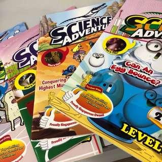 13 Science adventure books