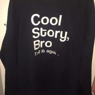Cool story bro jumper