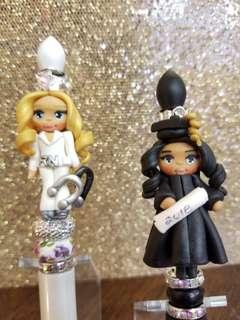 Custom Doll pens