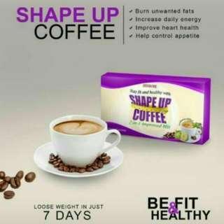 Shape up coffee onhand