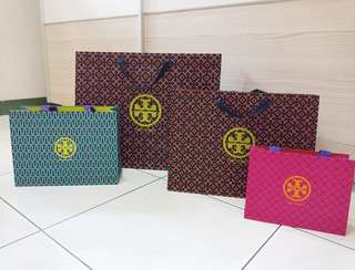 Tory Burch Paperbag Authentic branded paper bag original