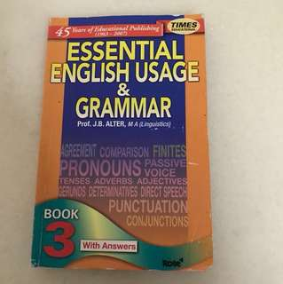 Essential English Usage & Grammer with Answers