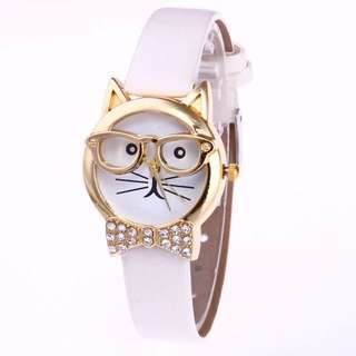 Cute Kitty Watch