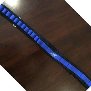 Nerf bullet holder strap