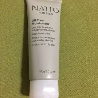 NATIO for MEN - Oil free Moisturizer