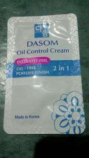 Oil Control Cream