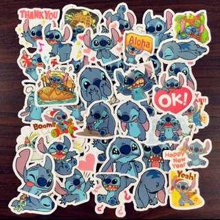 40pcs stitch Sticker