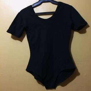 Black Ballerina Bodysuit