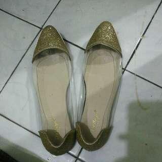 Flatshoes kaca bling