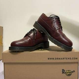 🚚 Dr.martens 3989 smooth cherry red 原價5880 馬丁 正版 經典 復古 雕花鞋