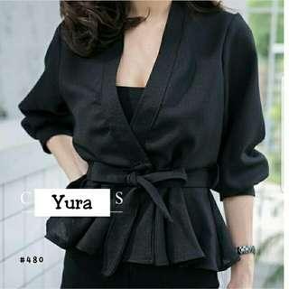 Kimono Yura Hitam