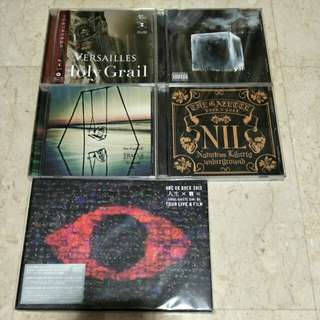 One Ok Rock Gazette Versailles CDs