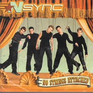 MY CD - NSYNC - NO STRINGS ATTACHED - 2 CDS BOX TYPE. //FREE DELIVERY BY SINGPOST.