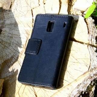 紅米1 皮革手機套 手機殼 手工銀包 MI leather phone case cover wallet DIY