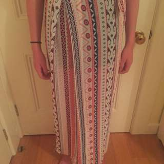 Wrap Hippie Skirt
