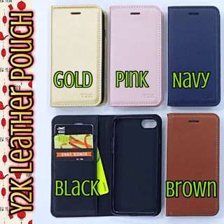 Y2K Leather Pouch Casing Cover