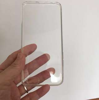 BN iPhone 6s clear silicon case+6pc free gifts
