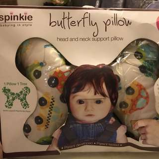 Spinkie Butterfly Pillow