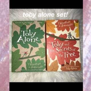 Toby alone set !