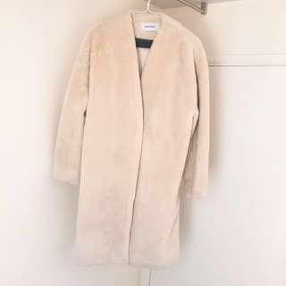 Jeanasis Furry Coat