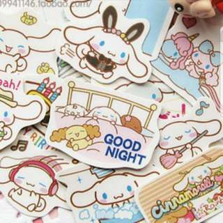 24pc Cinnamoroll Cartoon Sticker