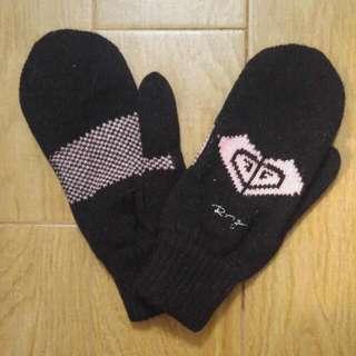 全新正版 Roxy Mitten Black 手套