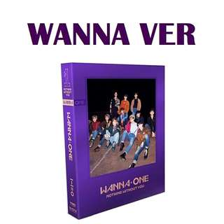 (ON HAND) WANNA ONE NOTHING WITHOUT YOU (Wanna Ver.)