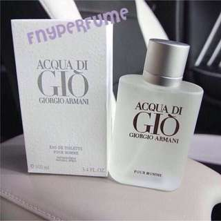 Parfume Acqua di gio 100mL (segel)