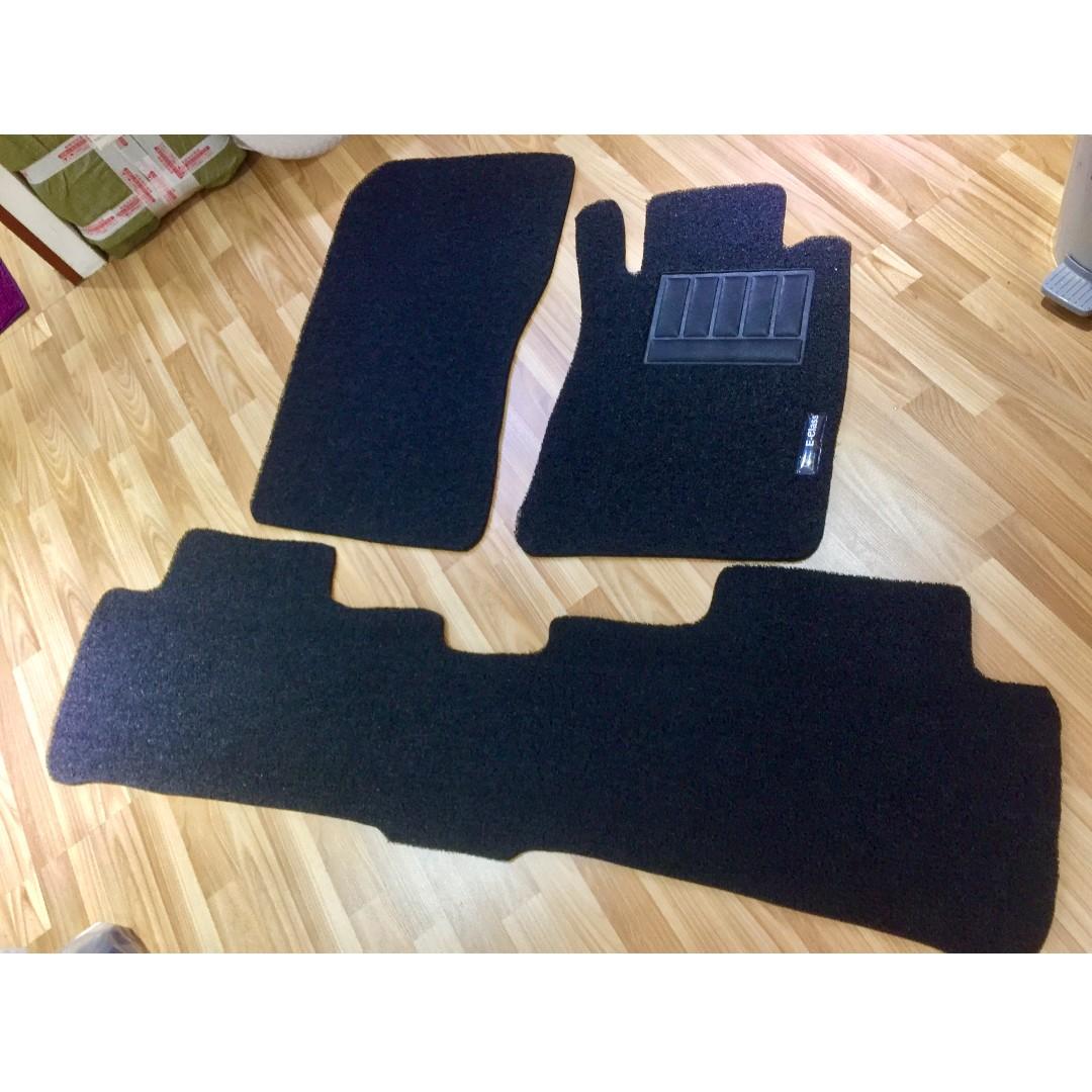 mats oem mercedes benz brown oe set itm ebay floor carpet mat