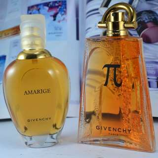 GIVENCHY AMARIGE & GIVENCHY NEO EDP 100ML ORIGINAL EROPA NON BOX