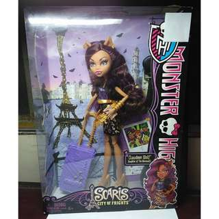 MONSTER HIGH Scaris City of Frights Clawdeen Wolf Doll