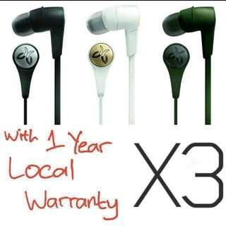 BNIB 1 Year Local Warranty Jaybird X3