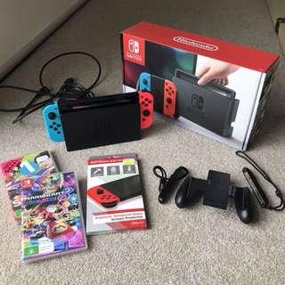 Nintendo Switch Console Neon Plus FREE GAMES!