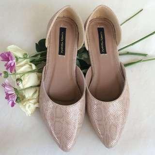 Flatshoes mulan in pinknude