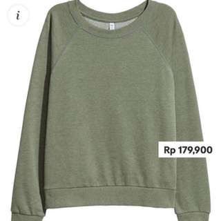 Divided by hnm sweatshirt green