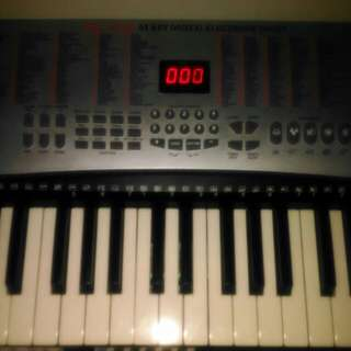 54-Key Electronic Piano Keyboard Organ with Adapter
