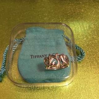 約港度 10 號圈  Tiffany 經典 925 銀戒指(8成幾新)