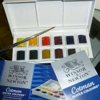 W & N Pocket box Watercolor