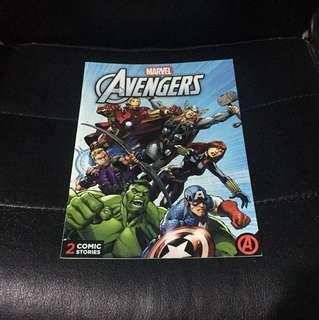 Marvel's Avengers Comic