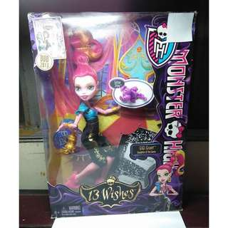 MONSTER HIGH 13 Wishes Gigi Grant First Release Doll