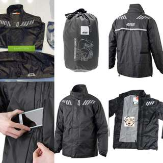 1101*** Givi Raincoat RRS04 Black 🤣🤣Thanks To All My Buyer Support 👌👌