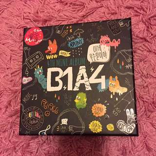 B1A4 What's Going On 專輯正版 (攻燦貼紙)